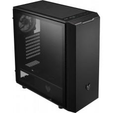 FORTRON/FSP FSP/Fortron ATX Midi Tower CMT350 Black, průhledná bočnice, 1 x A. RGB LED 120 mm