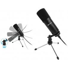 Sandberg Streamer USB Desk Mikrofon, černý