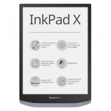 PocketBook 1040 INKPAD X, METALLIC GRAY, ŠEDÝ