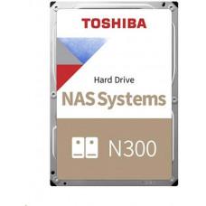Toshiba HDD N300 NAS 6TB, SATA III, 7200 rpm, 256MB cache, 3,5