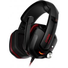 Crono Atropos HES-01 Herní sluchátka s mikrofonem, 7.1 Sound Effect, USB,  černá