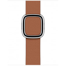 APPLE Watch Acc/40/Saddle Brown Modern Buckle - Large
