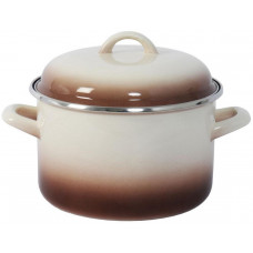 METALAC hrnec + poklice pr.20cm 4l CAPUCCINO