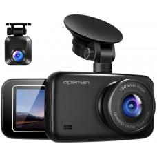 Apeman Digitální Autokamera Apeman C860, 1440P a 1080P Dual Dash Cam