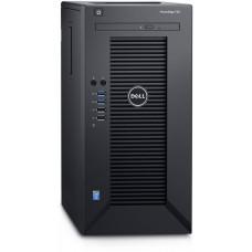 DELL PowerEdge T30 E3-1225 v5/16GB/2x1TB SATA/RAID 1/DVDRW/3xGLAN/290W/3RNBD/Černý