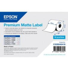 EPSON Premium Matte Label Cont.R, 76mm x 35m, MOQ 18ks