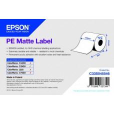 EPSON PE Matte Label - Continuous Roll: 102mm x 29m