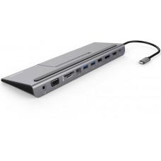 PREMIUMCORD USB-C MST dock se stojanem na telefon