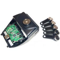 VIRTUOS Čtečka magnetických karet 1/2/3 stopy a iButtonů pro Aer + 5 klíčů