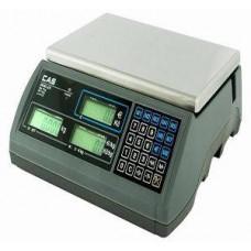 CAS Váha CAS ERplus,bezsloupku,výp.ceny,15kg/5g,6kg/2g