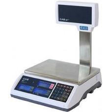 CAS Váha CAS ERPLUS P,LCD na noze,RS232,6/15kg,2/5g