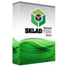 X-POS Skladový SW SKLADMAX OBCHOD BASIC pro pokladní SW KASAMAX OBCHOD