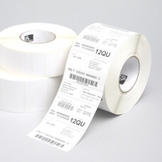 ZEBRA Z-Select 1000T, Midrange, 76x38mm; 3,634 labels for roll, 6 rolls in box.