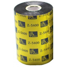 ZEBRA páska 3400 wax/resin. šířka 89mm. délka 450m