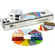 ZEBRA Plastové karty PVC 0,25mm (10MIL),500ks v balení