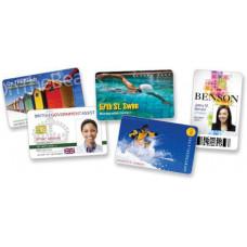 ZEBRA Premier (PVC) Blank White Cards,Card, 15 mil,500ks