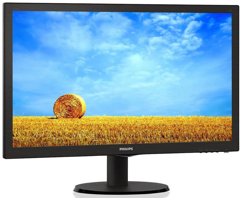"PHILIPS 22"" LCD Philips 223V5LSB2 - FullHD, VGA (223V5LSB2/10)"