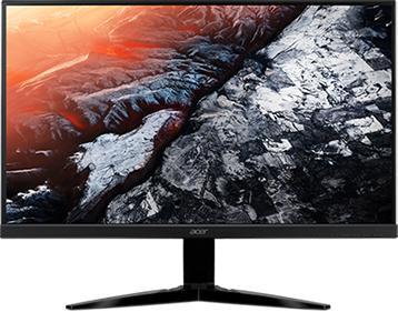 "ACER 27"" LCD Acer KG271 - TN,FullHD,1ms,75Hz,300cd/m2, 100M:1,16:9,HDMI,VGA,repro,FreeSync (UM.HX1EE.027)"