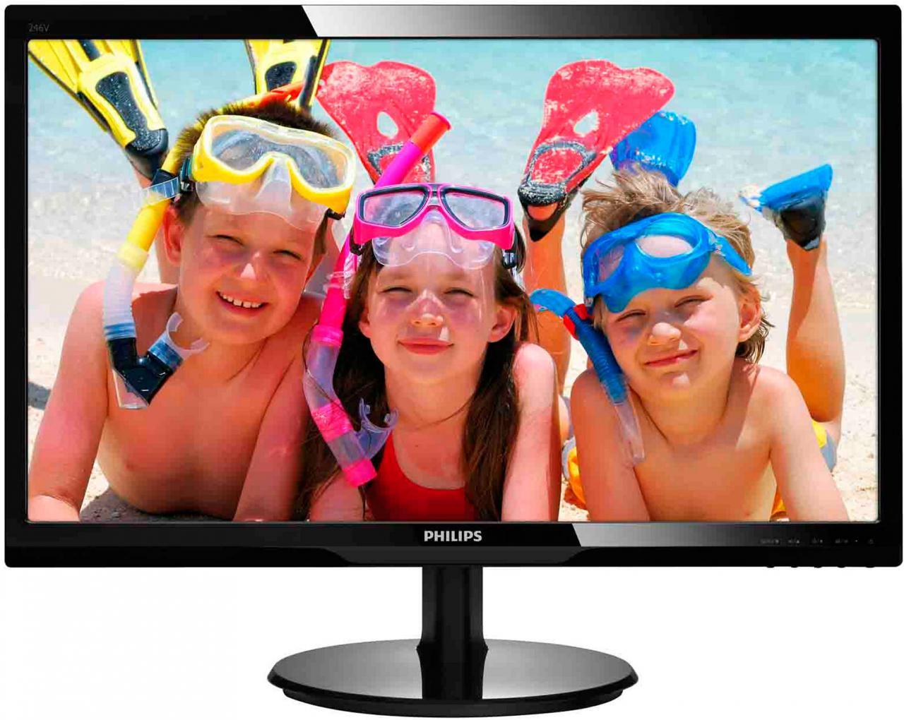 "PHILIPS 24"" LED Philips 246V5LHAB - FullHD,HDMI,rep (246V5LHAB/00)"