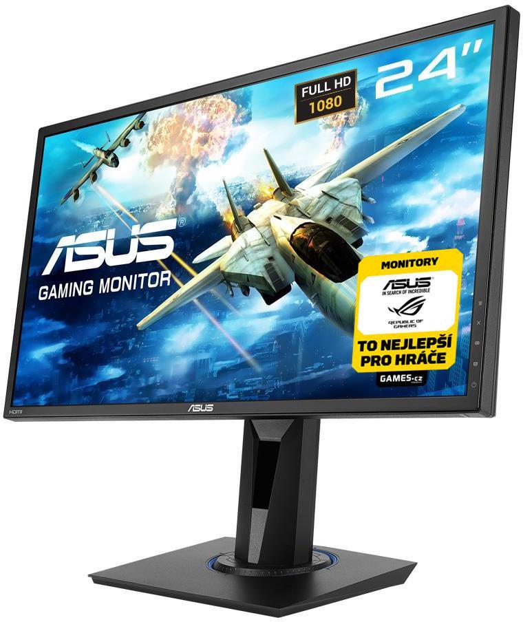 """ASUS 24"""" LED ASUS VG245H Gaming - Full HD, 16:9, HDMI, VGA, repro. (90LM02V0-B01370)"""