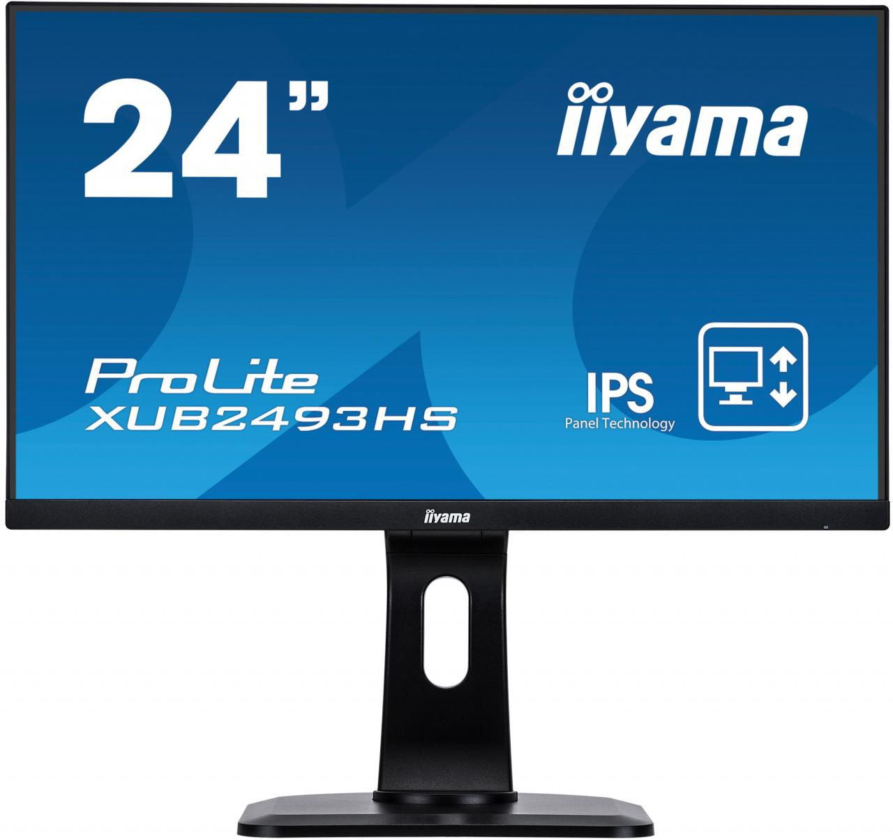 "IIYAMA 24"" iiyama XUB2493HS-B1 - IPS,FullHD,4ms,250cd/m2 (XUB2493HS-B1)"