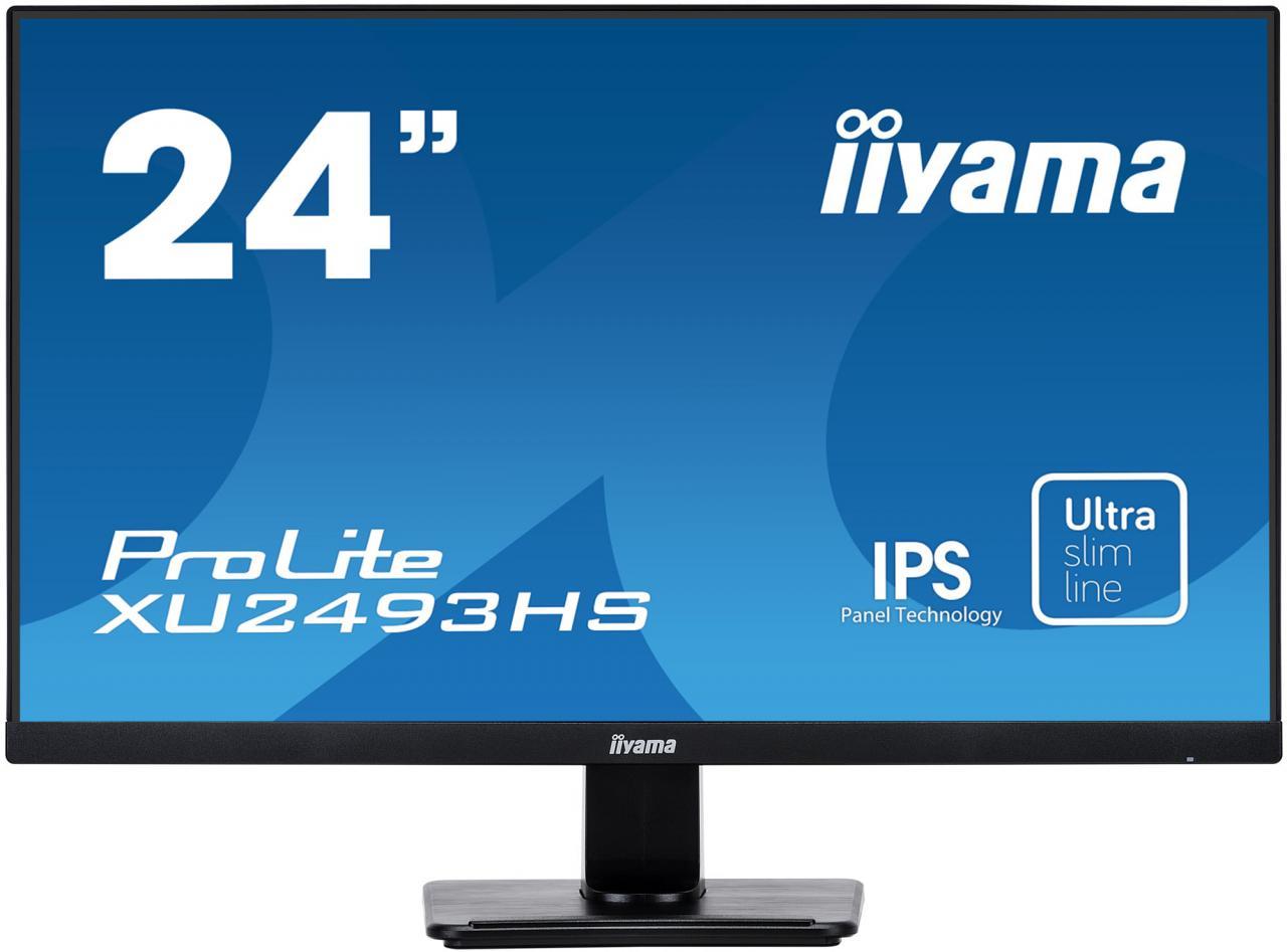 "IIYAMA 24"" iiyama XU2493HS-B1 - IPS,FullHD,4ms,250cd/m2, 1000:1,16:9,VGA,HDMI,DP,repro. (XU2493HS-B1)"