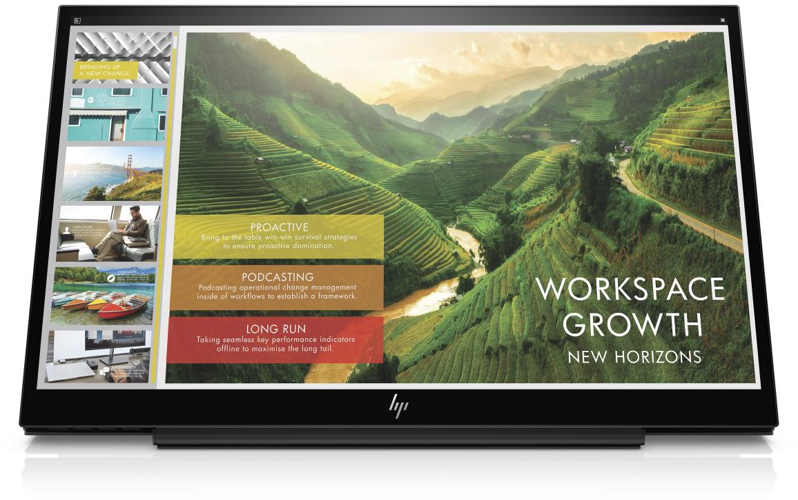 HP EliteDisplay S14 1920x1080/700:1/5ms/USB-C (3HX46AA)