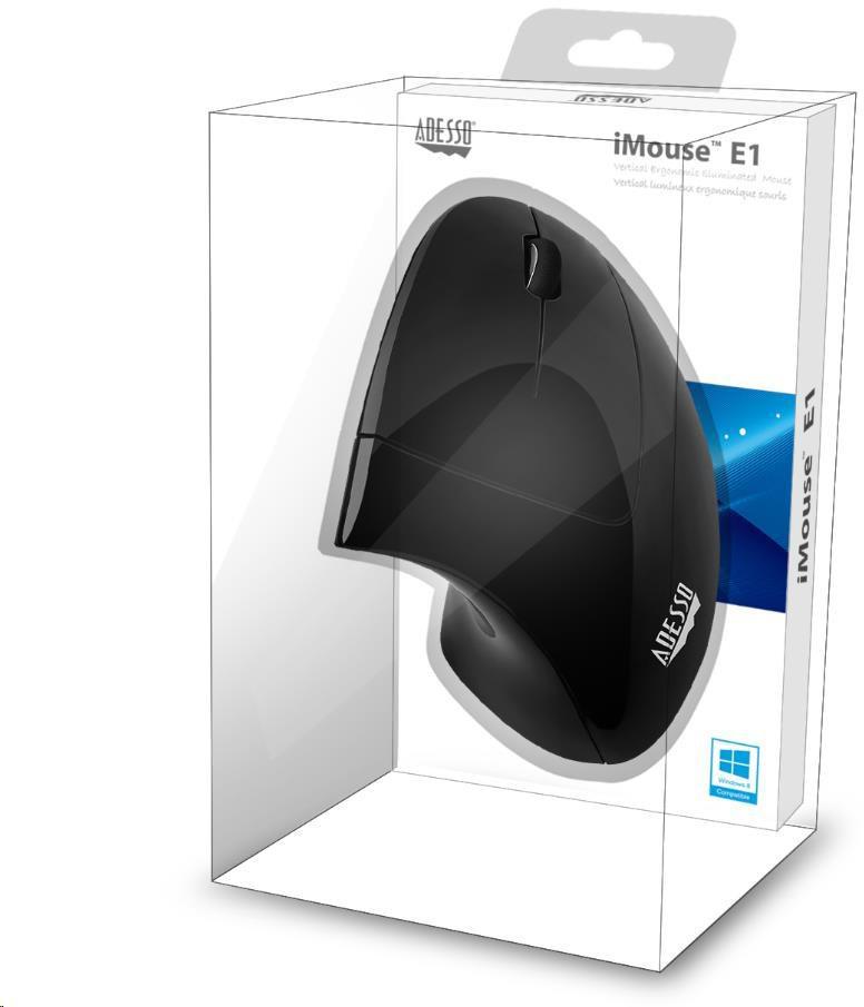 Spire ADESSO myš iMouse E1, vertikální, optická (iMouse E1)