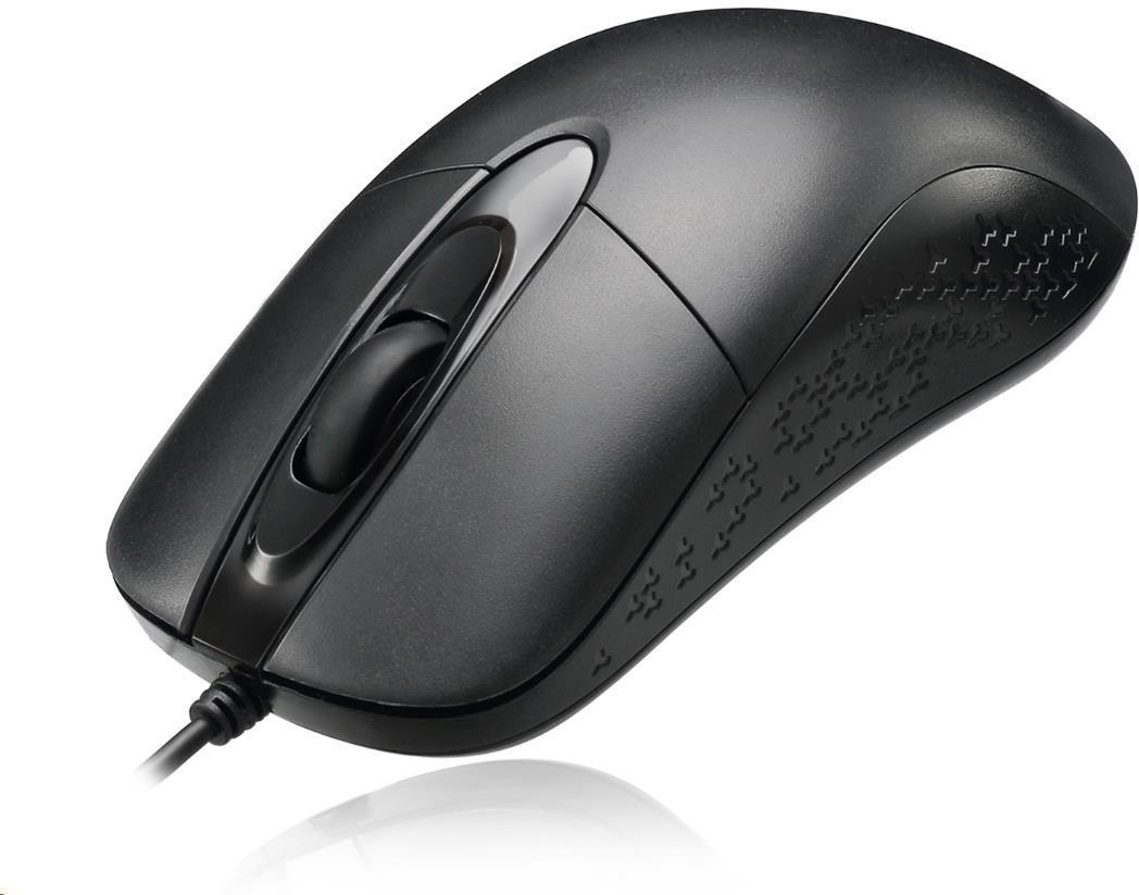 Spire ADESSO myš iMouse W4, optická, voděodolná, černá (iMouse W4)