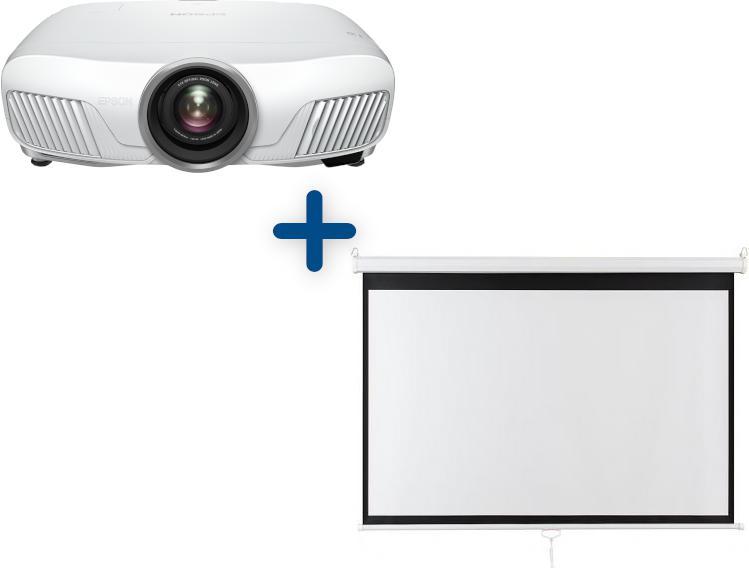 EPSON 3LCD 3D Epson EH-TW7400 2400 Ansi 200000:1 FullHD + plátno Aveli 200 x 125 (V11H932040)