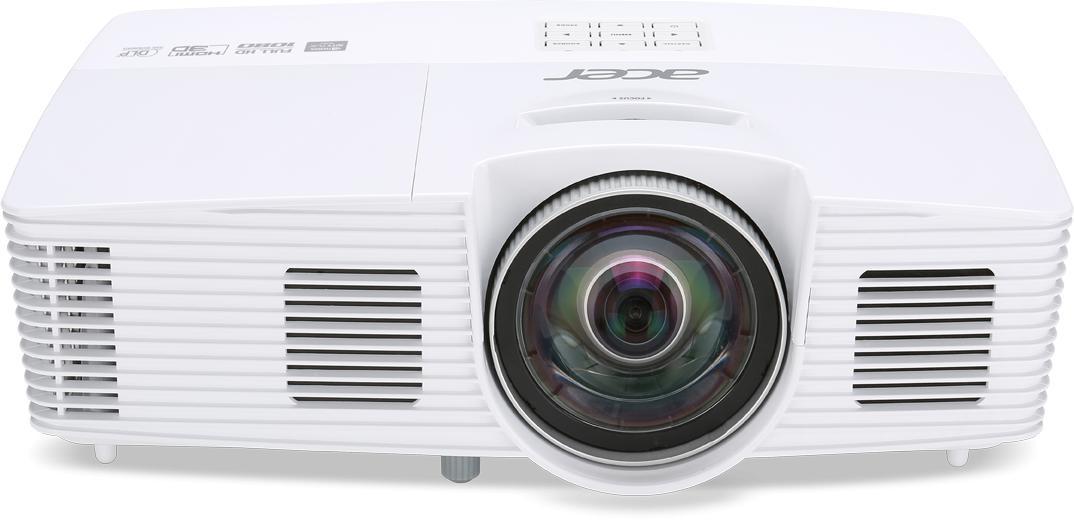 ACER DLP H6517ST (ShortThrow) - 3000Lm, FullHD, 10000:1, HDMI, VGA, USB, repro., bílý (MR.JLA11.001)