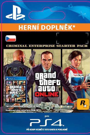 SONY ESD ESD CZ PS4 - GTA Online: Criminal Enterprise Starter Pack (SCEE-XX-S0036614)
