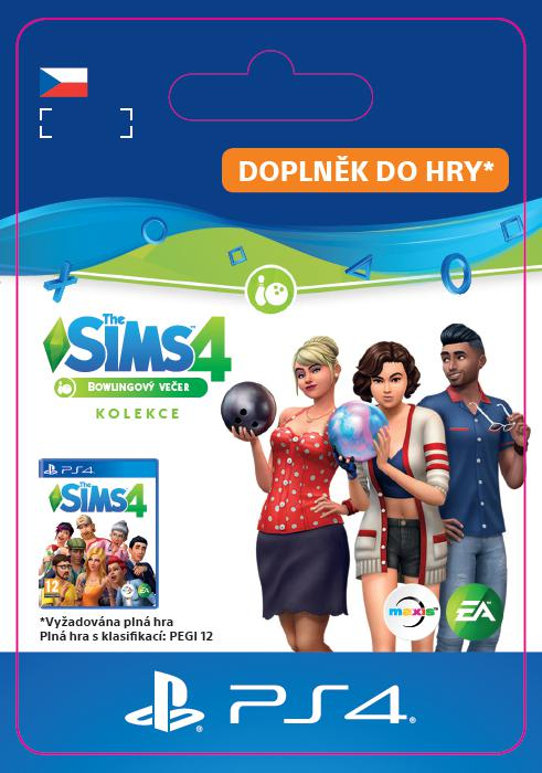 SONY ESD ESD CZ PS4 - The Sims 4 Bowling Night Stuff (SCEE-XX-S0044274)