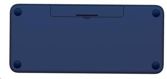 Logitech Bluetooth Keyboard Multi-Device K380, blue, EN (920-007581)