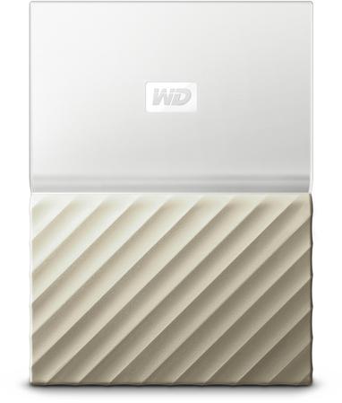 "WD Ext. HDD 2,5"" WD My Passport Ultra 1TB bílo-zlatá (WDBTLG0010BGD-WESN)"
