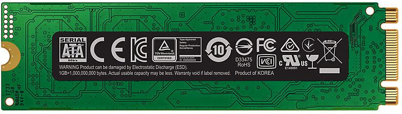 SAMSUNG SSD 500GB Samsung 860 EVO M.2 SATA III (MZ-N6E500BW)