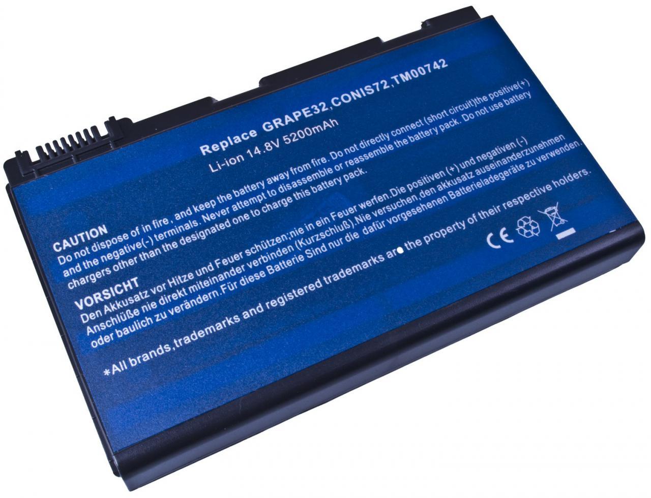 AVACOM Baterie AVACOM NOAC-TM53-806 pro Acer TravelMate 5310/5720, Extensa 5220/5620 Li-Ion 14,8V (NOAC-TM53-806)