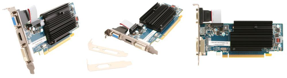 SAPPHIRE TECHNOLOGY LTD Sapphire HD6450 2GB (64) pasiv D H Ds D3 (11190-09-20G)