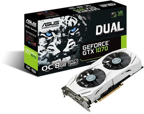 ASUS DUAL-GTX1070-O8G (90YV09T1-M0NA00)