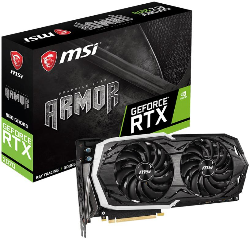 MSI GeForce RTX 2070 ARMOR 8G (RTX 2070 ARMOR 8G)