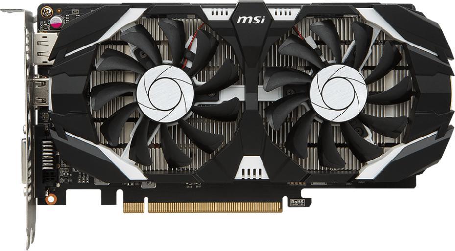 MSI GTX 1050 2GT OCV1 (GTX 1050 2GT OCV1)