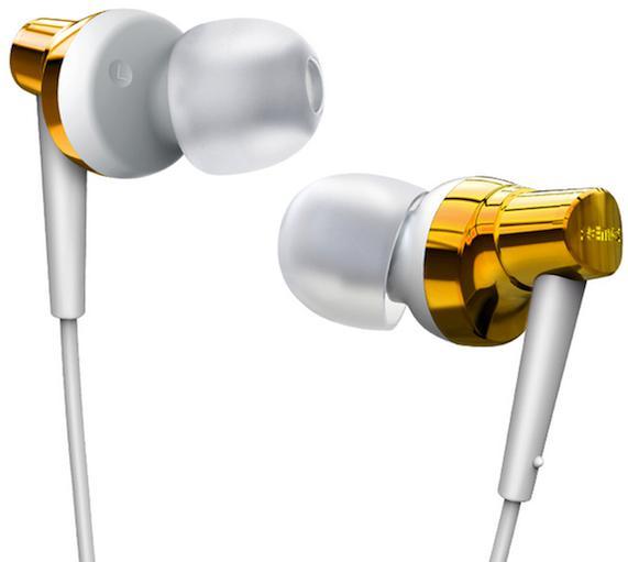 REMAX sluchátka-RM 575 pure - barva bílo zlatá (AA-1036)