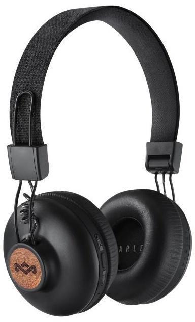 MARLEY Positive Vibration 2.0 Bluetooth - Signature Black, bezdrátová sluchátka přes hlavu (EM-JH133-SB)