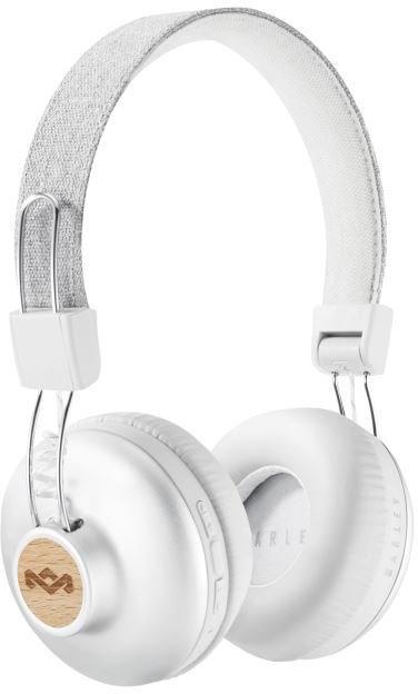 MARLEY Positive Vibration 2.0 Bluetooth - Silver, bezdrátová sluchátka přes hlavu (EM-JH133-SV)