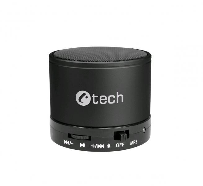C-TECH repro C-TECH SPK-04B, bluetooth, černé (SPK-04B)