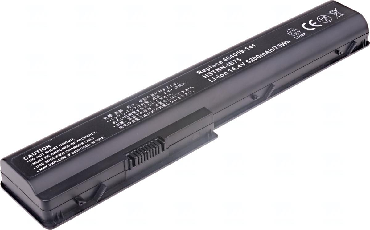 T6 POWER Baterie T6 power HP Pavilion dv7-1000, dv7-2000, dv7-3000, dv8-1000 serie, 8cell, 5200mAh (NBHP0032)