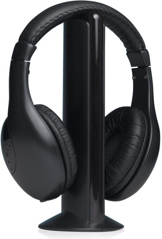 Bezdrátová sluchátka W9 Black (8588006962444)