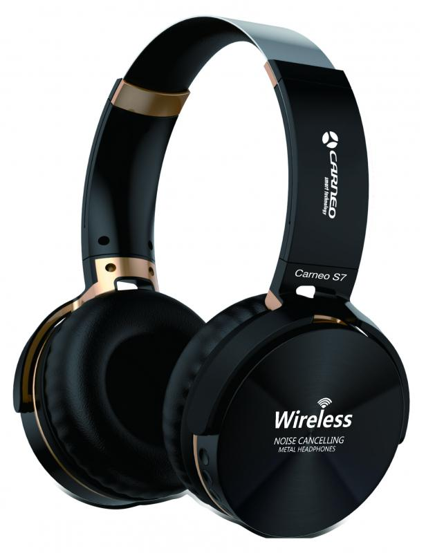 Bezdrátová sluchátka S7 Black (8588006962543)
