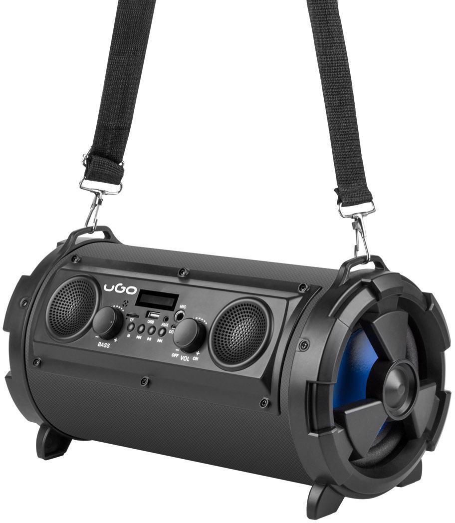 NATEC Bluetooth reproduktor UGO Bazooka 16W, 2.1, karaoke, mikrofon, FM rádio, MP3, AUX (UBS-11740)