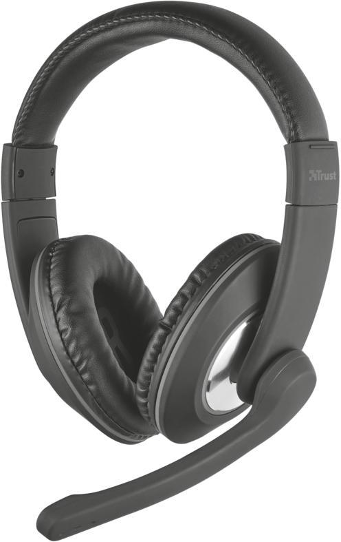 TRUST náhlavní sada TRUST Reno PC Headset (21662)